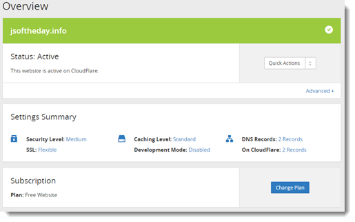 How to get free SSL for Azure Web Apps using Cloudflare